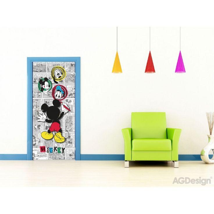 Mickey egeres álló poszter (90 x 202 cm)