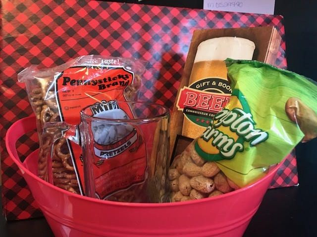 Father's Day Gift Basket, Beer Gift Basket, Custom Gift Basket, Dad Gift, Personalized Gift, Father's Day Gift, Beer Gift, Gifts for Him by ChickenCoopGifts on Etsy