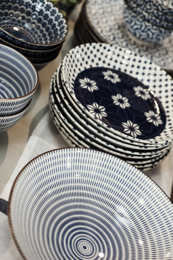 Japanese ceramics, Mix and match for the best looking table in your neighborhood