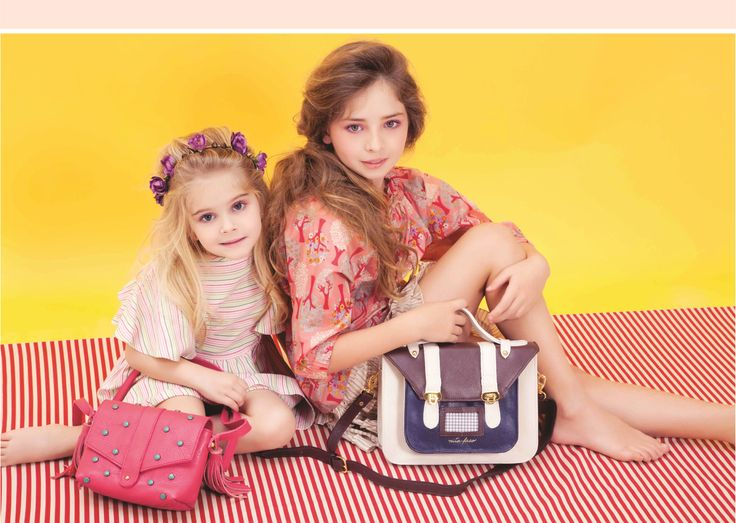 Nita Faco Summer Kids Collection. Leather bags.