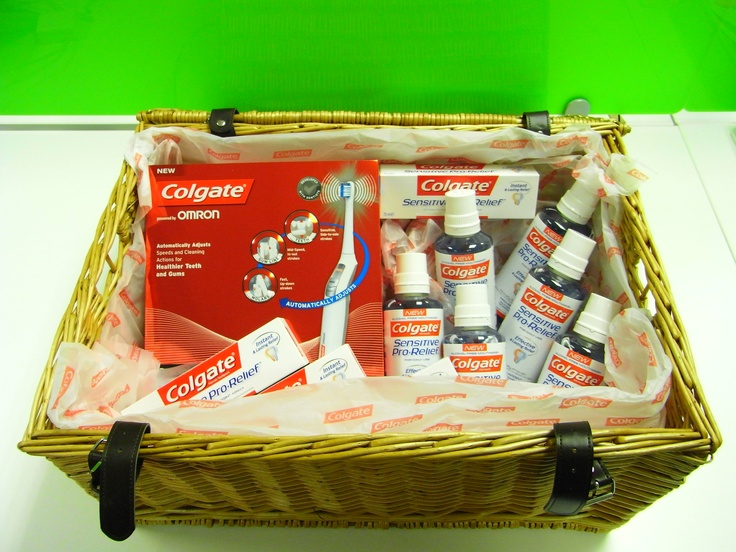 Great looking promotional hamper