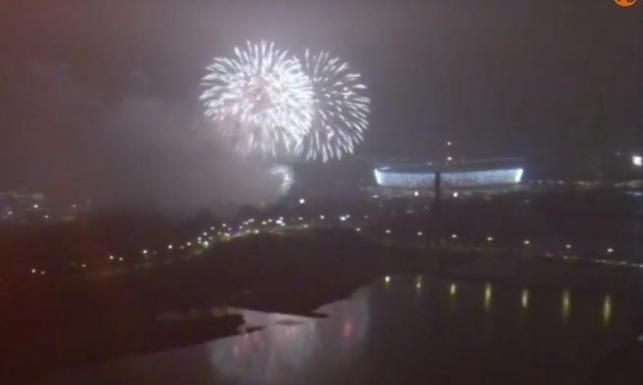 Sylwester w Warszawie. Fajerwerki z okazji Nowego Roku. WIDEO