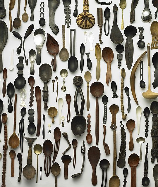 ArtifactsDecor, Kitchens, Cabinets Of Curio, Ideas, Art, Things, Spoons Collection, Wall, Wooden Spoons