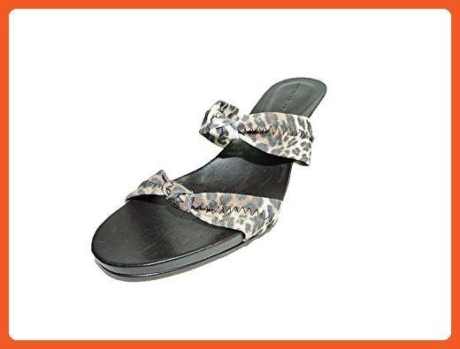 "Donald J Pliner Bare Womens Congo Leopard Mesh Elastic, Open Toe 2.75"" Heels Sandals Size 5 M - Pumps for women (*Amazon Partner-Link)"