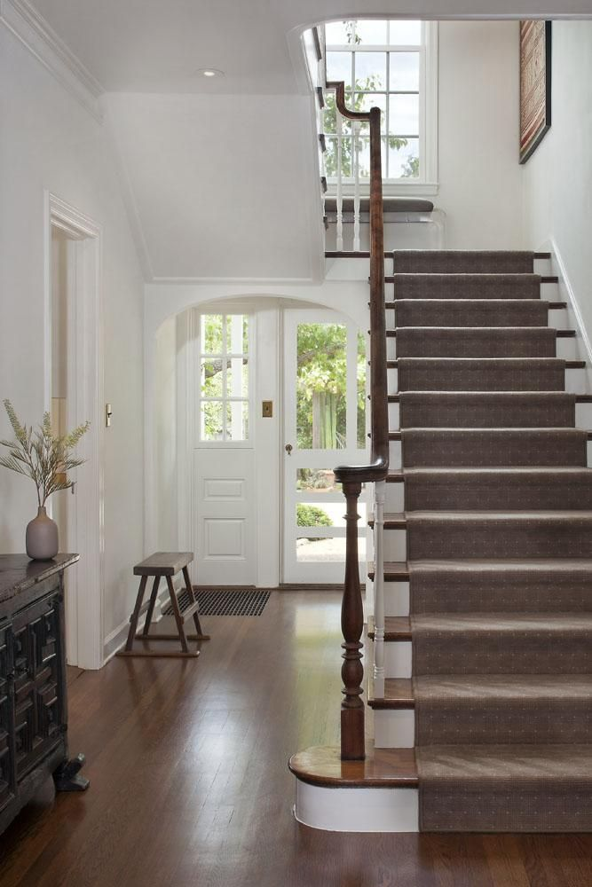 White traditional entry hall, Mark Reilly, Remodelista