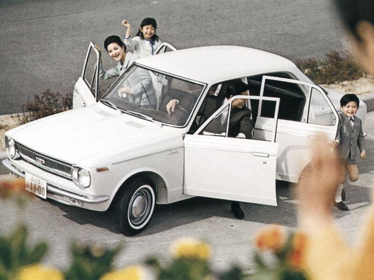 Toyota Corolla sedan 1966-1969 - photo Toyota | Auto Forever