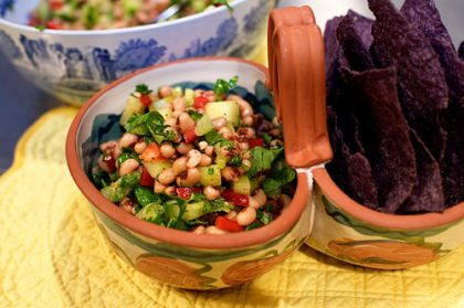 Did you know you absolutely HAVE to eat black eyed peas on New Year's Day or you'll be doomed to a whole year of not only bad luck and strife, but also pimples, bunions, and stray hairs…