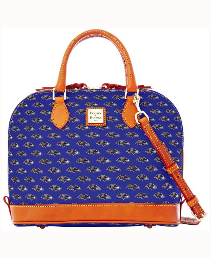 Dooney & Bourke Baltimore Ravens Zip Zip Satchel