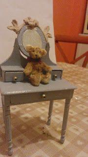 Teddy bear miniature 1:12