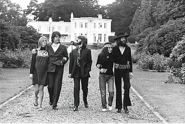 22 August 1969: The Beatles' final photo session, Tittenhurst Park.