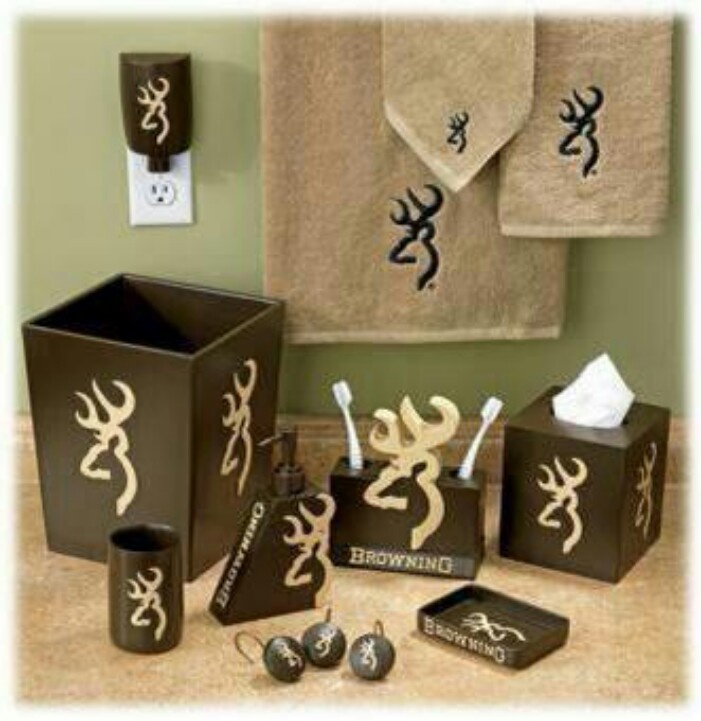 Browning Bathroom Set Can T Wait To Do This