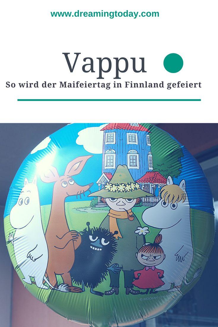 Vappu, so heißt der Maifeiertag in Finnland. Es ist besonders für die Studenten ein aufregender Tag.