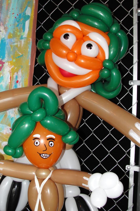 Life size umpa lumpa balloons MUST HAVE!!