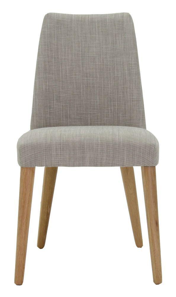 matt blatt Norfolk Dining Chair Fabric upholstery; solid Oak legs.  47cm W x 86cm H x 61cm D.