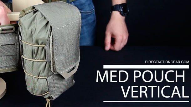 Direct Action выпустила свой первый подсумок персональной аптечки  DA MED Pouch