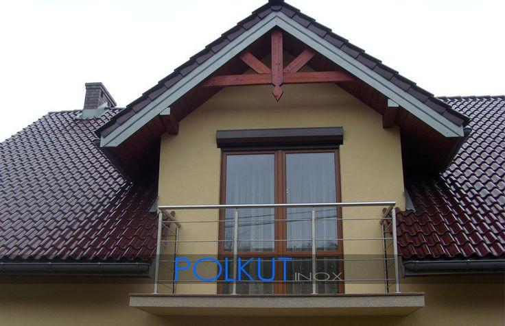 balustrady nierdzewne zewnętrzne balkonowe