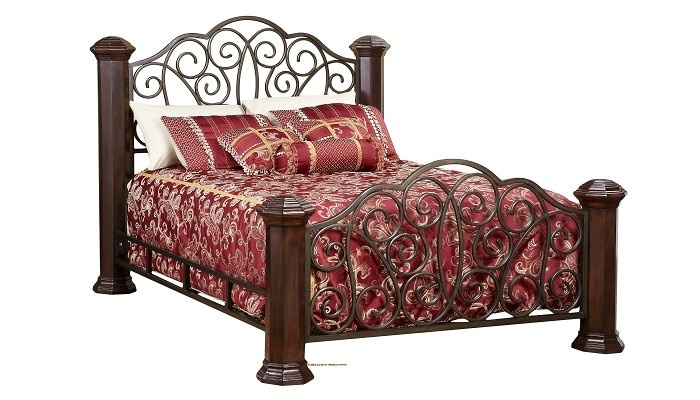 1000 images about camas on pinterest queen size iron bed frames and wrought iron. Black Bedroom Furniture Sets. Home Design Ideas