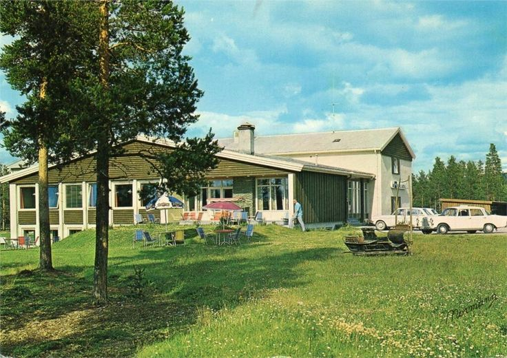 Hedmark fylke Os i Østerdalen Hummelfjell Hotell 1960-tallet Utg Normann
