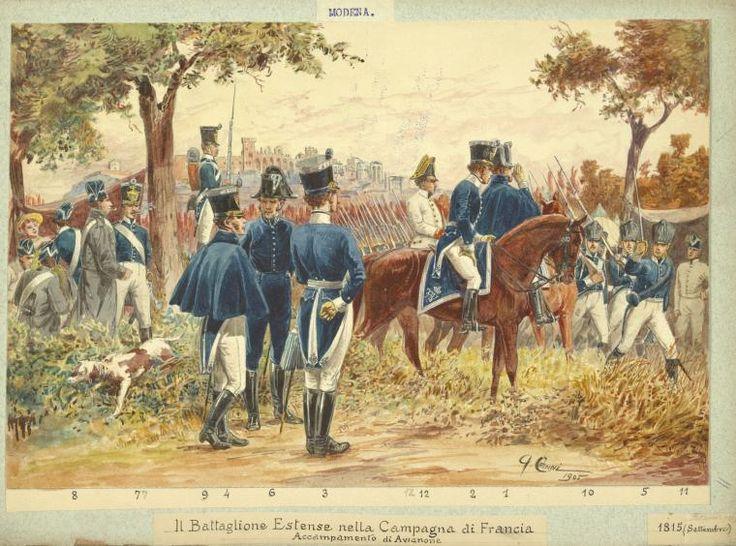 Italy. Modena, 1814-1833