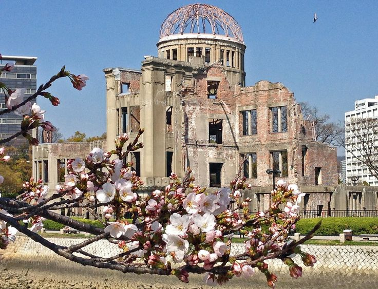 The Peace Memorial or also known as the Atomic Bomb Dome shows how destructive the A Bomb had been on August 6, 1945.