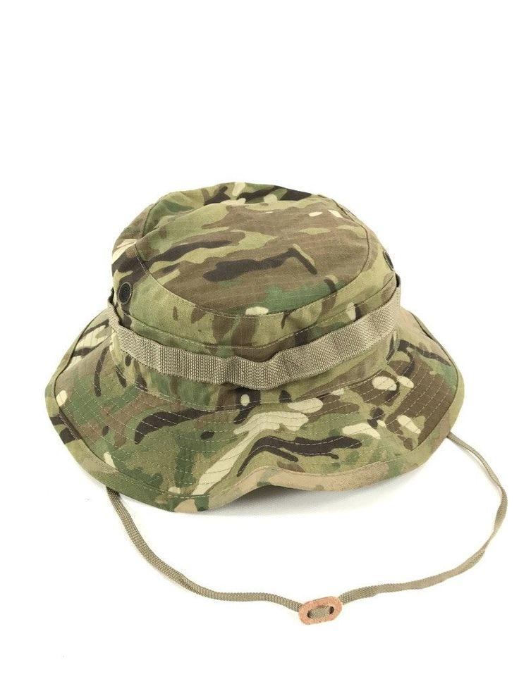 US Army Tactical Military AR 670-1 Multicam OCP Boonie Hat Sun Cap