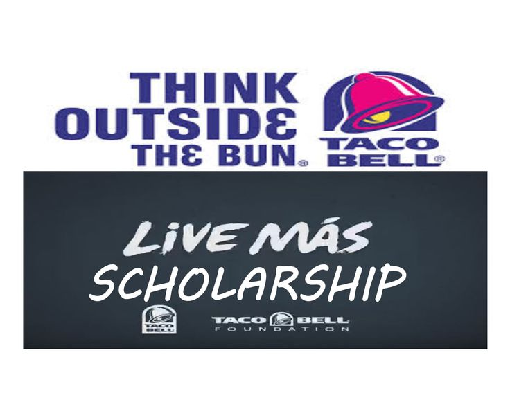 #highschool #CollegeBound #Seniors2017@tacobell   has a #video #scholarship opportunity for you. Create a 2 min #video that answers at least the first four of the questions they want to know about you. The Taco Bell Foundation will award $1 million to 100 young adults in 2017. See Details ~ Deadline: May 12, 2017