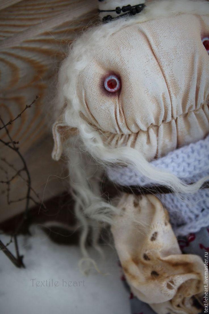 Купить Daesan. - эльф, Страшные игрушки, страшные куклы, чердачные игрушки, чердачная кукла, существо