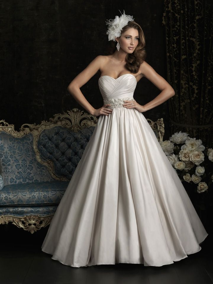 234 best taffeta wedding gowns images on pinterest wedding frocks allure 8969 a taffeta gown featuring a strapless sweetheart neckline and ruched bodice the natural waistline is accented with beading and swarovski junglespirit Choice Image