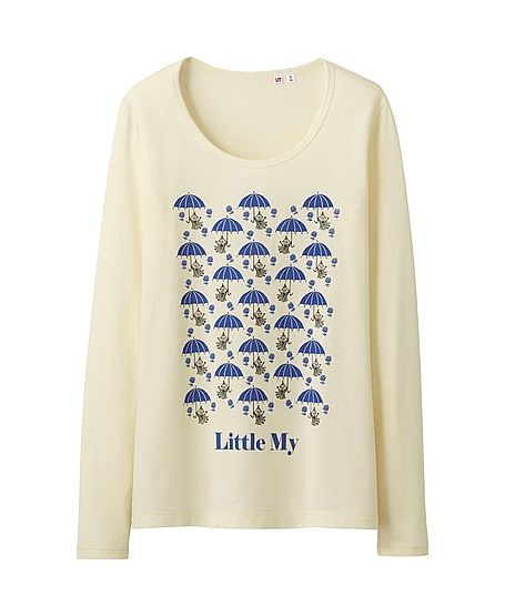 Moomin Little My long sleeve t-shirt by Uniqlo