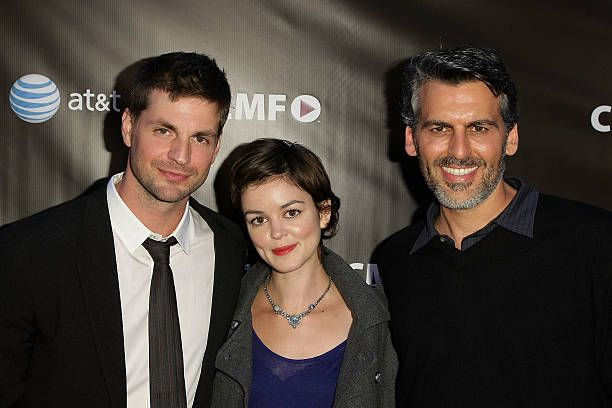Gale Harold Nora Zehetner and Oded Fehr attends the Campus Moviefest at Studio Theater on the Paramount Studios lot on June 12 2009 in Los Angeles...