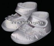 Pantofiori pentru botez pentru fetite LITTLE FLOWER
