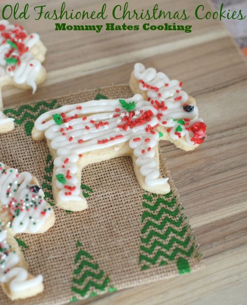 Old Fashioned Christmas Cookies & Free Printable I Mommy Hates Cooking