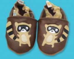 Galipatte Baby Booties Leather Lemur. Available at Wauwaa http://bit.ly/1oFuWD5 #AutumnDays @wauwaauk