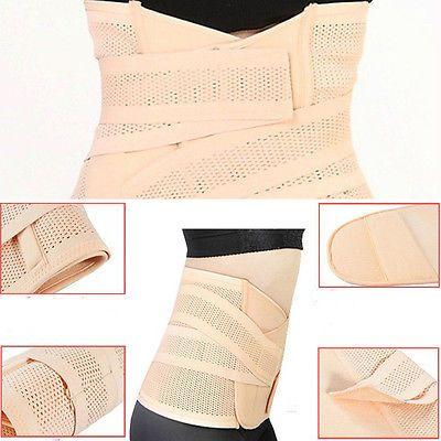 Recuperación Postparto Ajustable Vientre Banda Faja Cinturón Adelgazar Cuerpo Cintura Abdomen