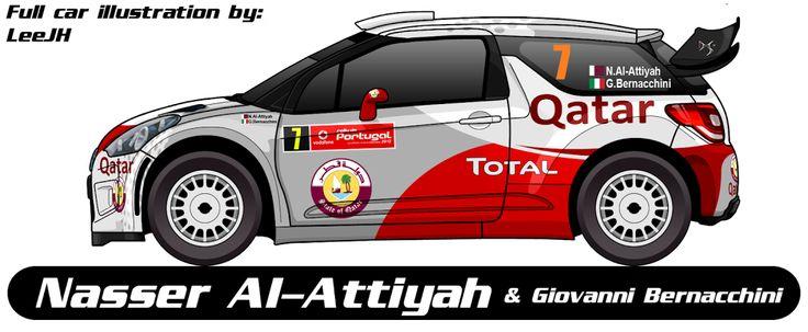 WRC | CITROEN | #7 | Nasser Al-Attiyah - Giovanni Bernacchini ( 2-6, 9-11 )