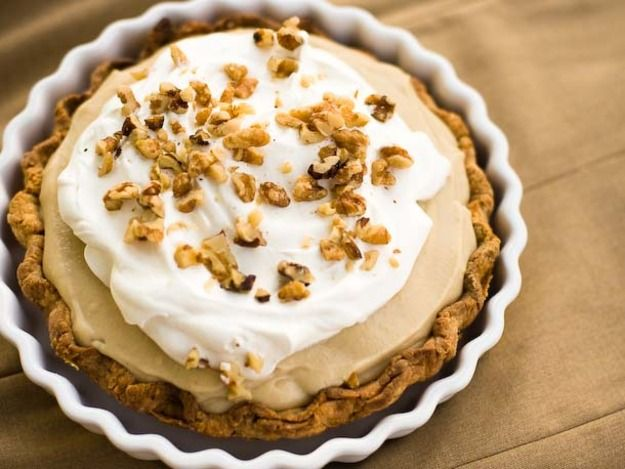 Butterscotch Pudding Pie   Serious Eats : Recipes   The one made for mom's birthday!