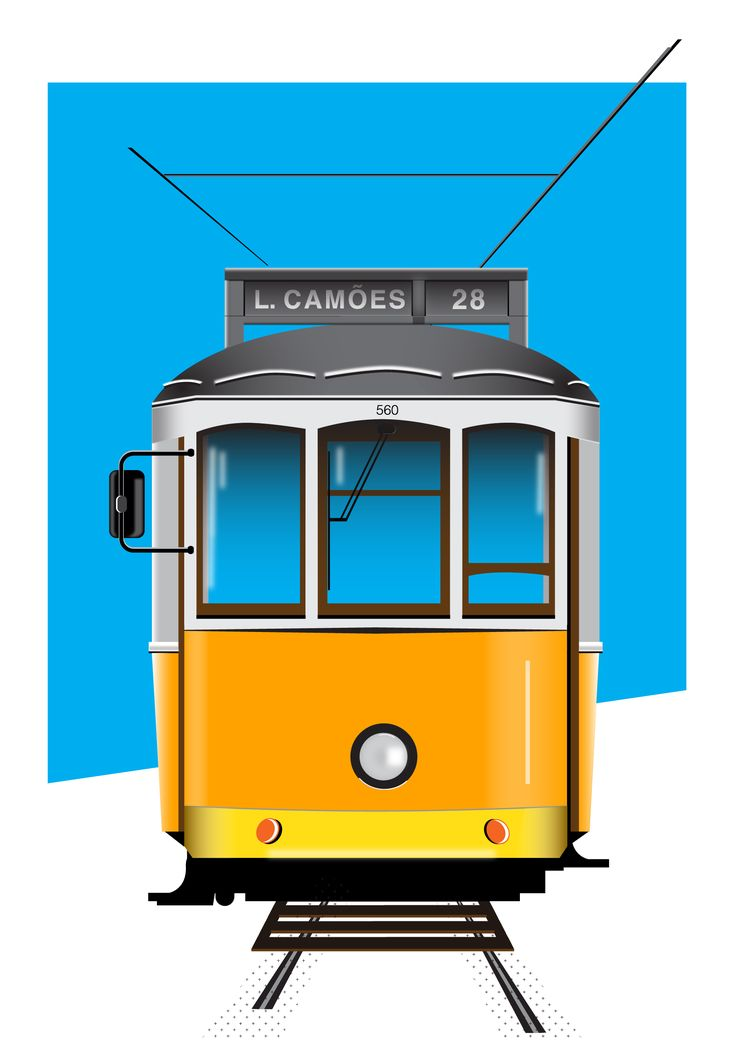 Elétrico | Yellow Tram - Lisboa | Portugal