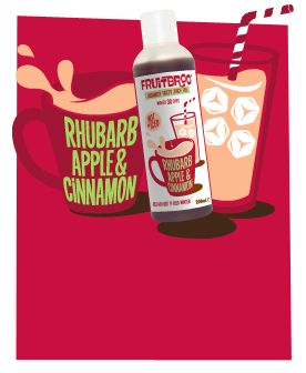 "Rhubarb Apple & Cinnamon Tea ""Liquid 'skinny' rhubarb crumble"" (Guilt-Free & 100% Natural)"