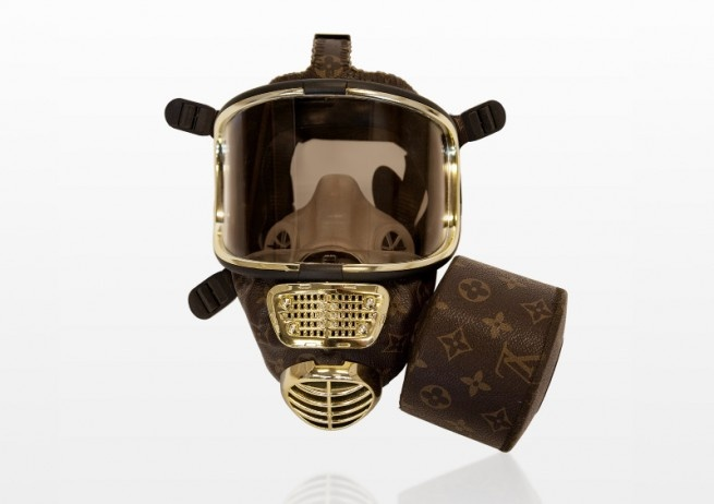 Get ready for the apocalypse in style - Louis Vuitton gas mask.