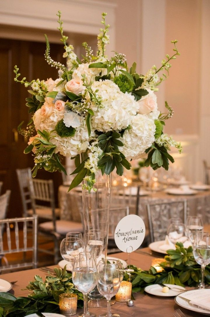 wedding flowers centerpiece ideas perfection at georgetown dc wedding receptions 9555