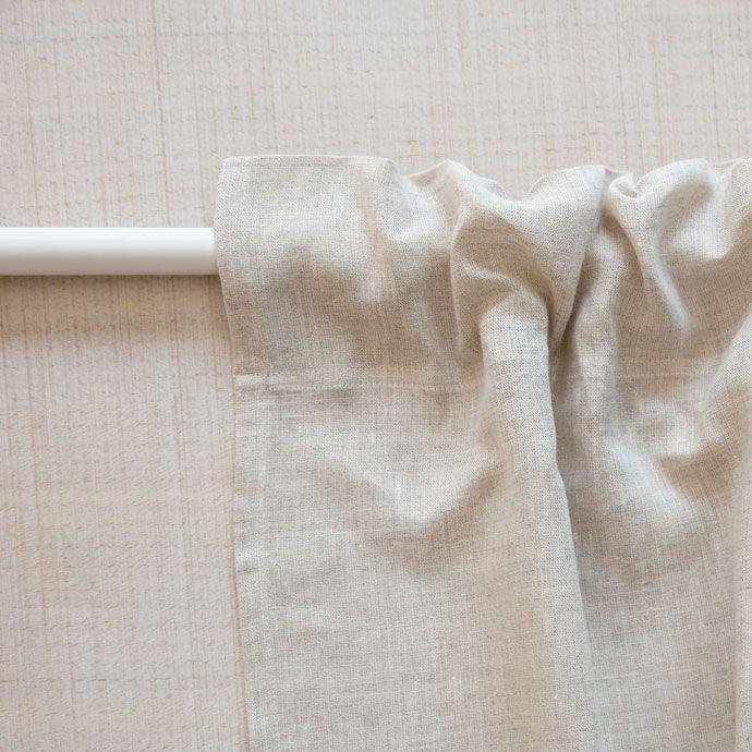 cortina lino lavado - Cortinas Lino