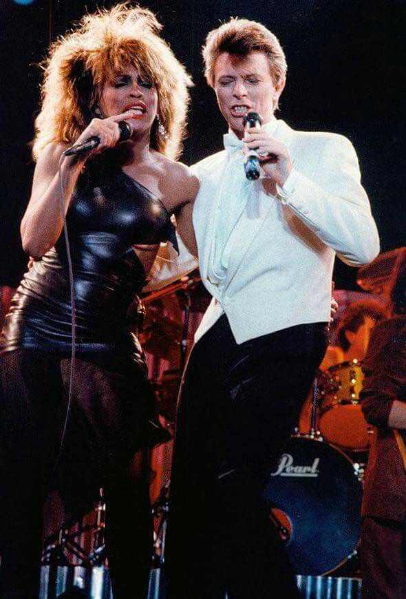 Tina Turner with David Bowie 1985