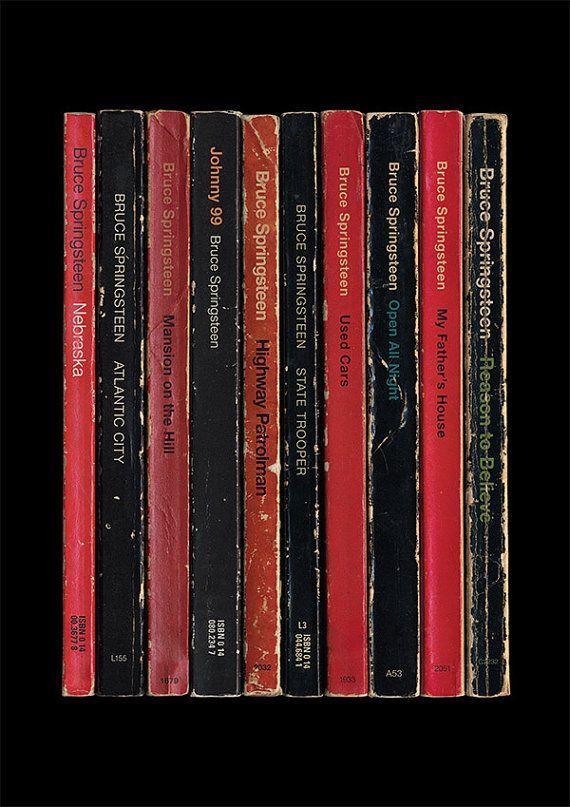 Bruce Springsteen 'Nebraska' Poster Print Album por StandardDesigns, £15.00