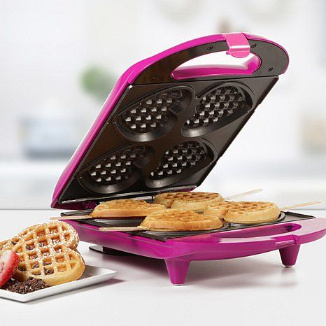 Shop Holstein Fun Collection Heart-Shaped Waffle Maker, read customer reviews and more at HSN.com.