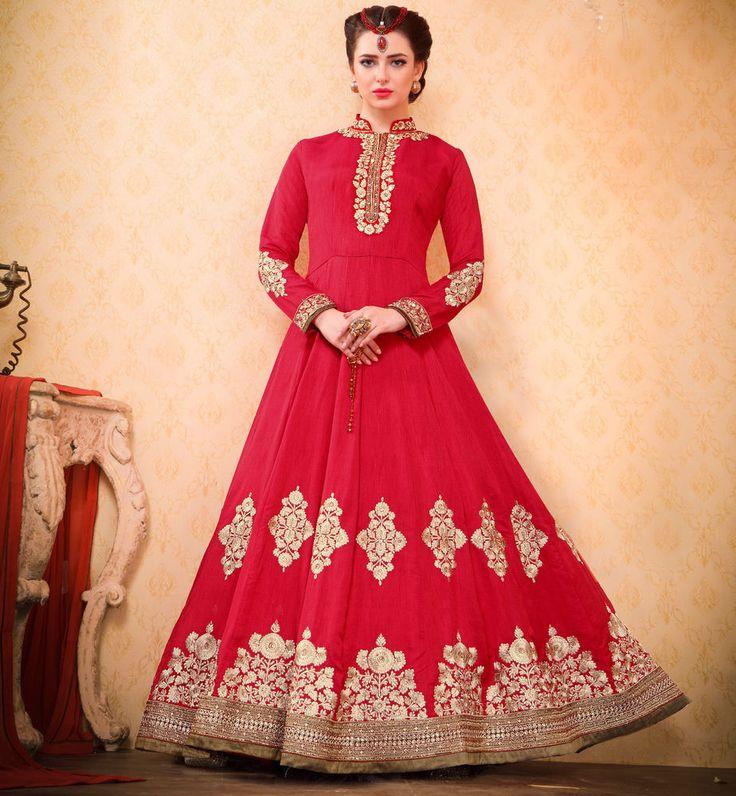 Designer Anarkali Pakistani Salwar Kameez Bollywood Indian Party M4084 #NA #SalwarKameez