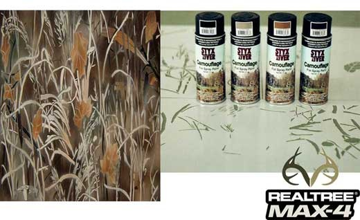 Styx River Duck Boat Camo Stencil Kit