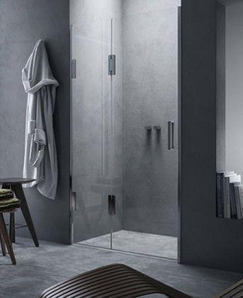 Calibe  Porta doccia scorrevole in nicchia Thiesi