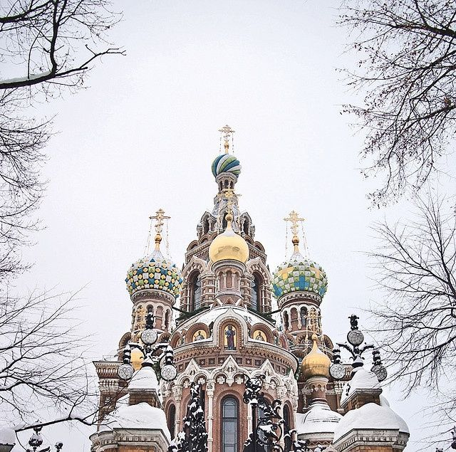 St. Petersburg, Russia - Church of the Savior on Blood (Spas na Krovi)