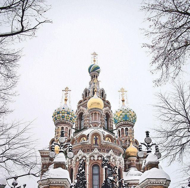 St. Petersburg, Russia - Church of the Savior on Blood (Spas na Krovi)
