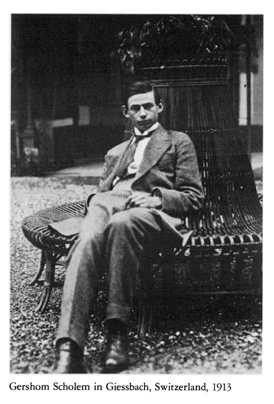 gershom scholem thesis Gershom scholem studying the zohar in 1925 photo: national library of  even his relationship to anne is unraveling and his academic thesis on poe, once a .